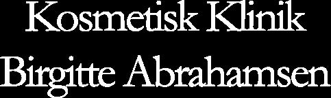 Kosmetisk Klinik Birgitte Abrahamsen